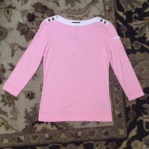👚NWT LRL Ralph Lauren Pink Long Sleeve Top 👚